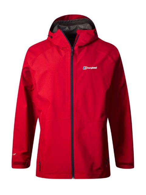 Berghaus Mens Paclite 2.0 Shell Jacket Goretex - Haute Red